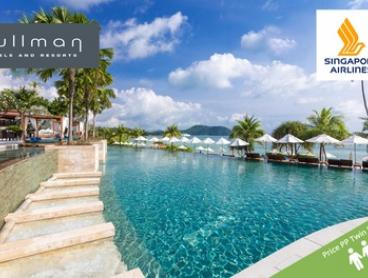 Phuket: From $1,099 Per Person for 7 Nights with Flights and Daily Cocktails at 5* Pullman Phuket Panwa Beach Resort