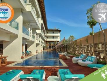 Bali: From $599 Per Person for a Five-Night Getaway with Flights and Breakfast at 4* Jimbaran Bay Beach Resort & Spa