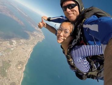 Tandem Skydive: 10,000 - 12,000ft for One or Two (From $269) with West Australian Skydiving Academy (Up to $760 Value)