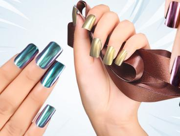 Add to Your Nail Polish Routine with an Addition of Colour with These Metallic Nail Powder Kits! With UV Light, Top Coat and More Included to Get the Perfect Pinterest-Worthy Style. Only $15
