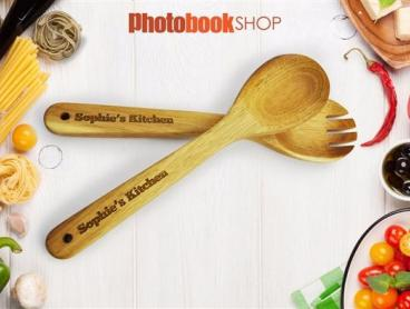 Personalised Wood Kitchen Utensils