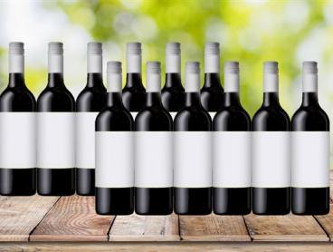 Dozen Mystery Red Wines, Delivered