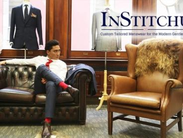 $59 for a Tailored Shirt or $699 for a Two-Piece Tailor-Made Men's Suit + Two Shirts by InStitchu (Up to $1,237 Value)