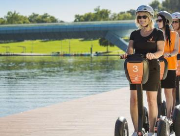 Take in the Spectacular Views of the Adelaide Riverbank with a One-Hour Segway Tour. Just $75 for One Person or $149 for Two