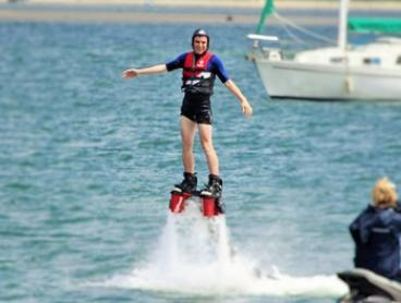 Fly Board Experience and SUP Hire for One ($135) or Two People ($269) with Gold Coast Watersports (Up to $410 Value)