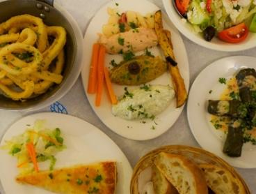 $49 for a Traditional Eight-Course Greek Banquet with Coffee for Two People at White Village Greek Tavern ($129 Value)