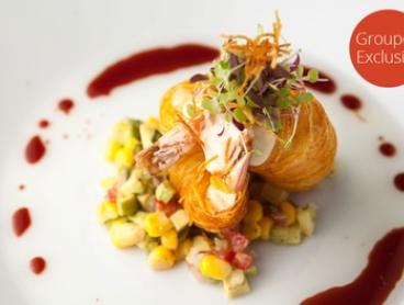 Two-Course Mod Aus + French Sparkling for One ($29), Two ($55) or Four ($110) at Artichoke Restaurant (Up to $300 Value)