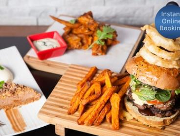 Three-Course Soul Food Feast for Two ($49) or Four People ($98) at Ultra Lounge Bar and Cafe (Up to $136 Value)