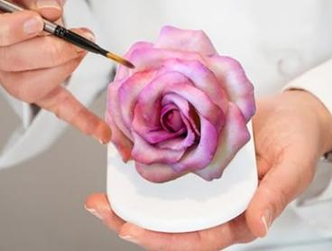 From $29 for Foundant Rose Cake Decoration for Beginners with Bubbles at The Classic Cupcake Co (From $150 Value)