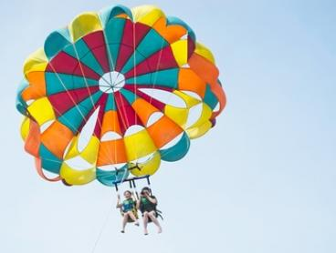 $99 for a Tandem Parasailing Experience for Two People with Gold Coast Watersports, Main Beach (Up to $150 Value)