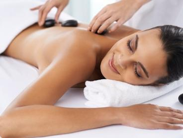 70-Minute Hot Stone Massage and Back Scrub for One ($75) or Two People ($149) at Massage On Darby (Up to $280 Value)