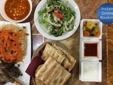Afghan Lunch or Dinner: Two ($29.99), Four ($54.99) or Six People ($79.99) at Afghan Masala (Up to $119.94 Value)