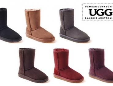 $89 for a Pair of Ozwear Water-Resistant Classic UGG 3/4 Unisex Boots (Don't Pay $259)