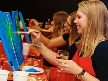 Two-Hour Social Painting for One ($39) or Two People ($75) with Life with Paint, Multiple Locations (Up to $130 Value)
