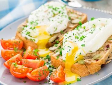 Breakfast with Large Coffee for One ($11) or Two People ($21) at Cafe Capital Grind (Up to $40.80 Value)