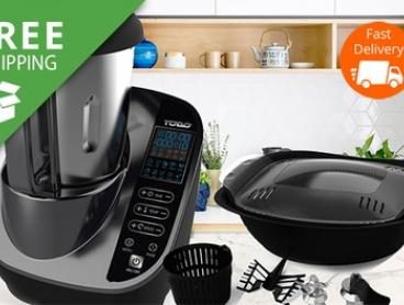 Free Shipping: $319 for a TODO High-Power Thermostatic Multifunctional Cooking Machine (Don't Pay $999)