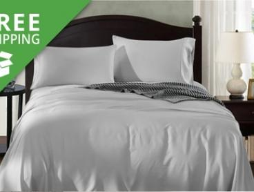 Free Shipping: From $69 for 1000TC 100% Bamboo Sheet Set (Don't Pay up to $349)