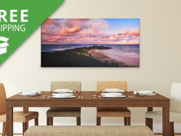 Free Shipping: From $15 for a Personalised Canvas Print (Don't Pay up to $239.95)