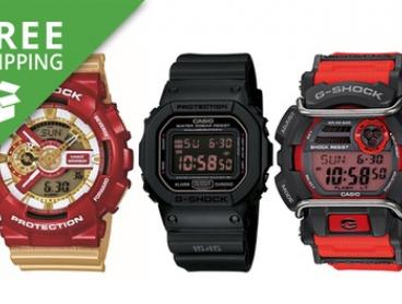 Free Shipping: From $79 for a Men's G-Shock Digital Watch (Don't Pay up to $299)