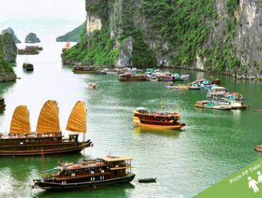 Vietnam and Cambodia: $1,199 Per Person for a 16-Day Tour with Meals, Tours and Transport with Halong Tours Booking