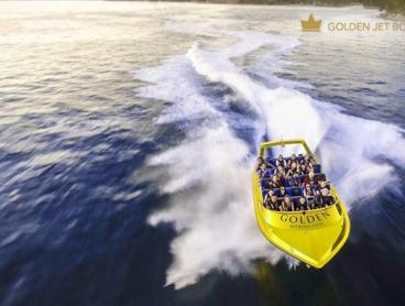 Jet boat experience-Syndey Harbour