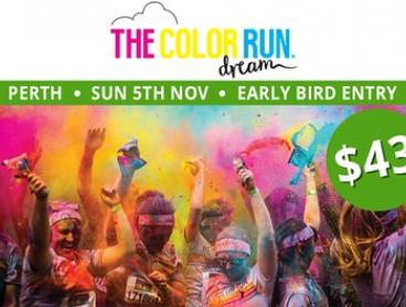 The Color Run™ Dream Tour - Early Bird Entry for $43 (Plus Booking Fee), 5 November, Langley Park