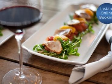 Three-Course Dinner + Glass of Wine or Beer for 2 ($69) or 4 People ($135) at Pelican Bar St Kilda (Up to $280 Value)