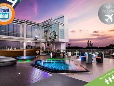 Bali: From $529 Per Person for a Seven-Night Getaway with Flights and Breakfast at 4* Love F Hotel Legian by Fashiontv