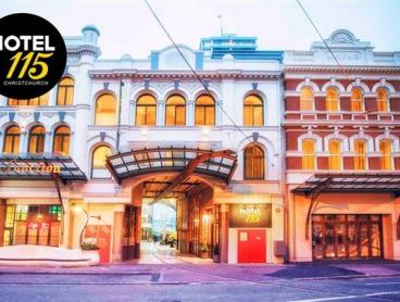 NZ - Christchurch Boutique Hotel Stay