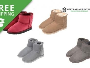 Free Shipping: $69 for a Pair of Australian Leather Short UGG Boots (Don't Pay $199)