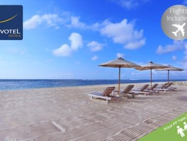 Bali: From $799 Per Person for a Seven-Night Getaway with Flights, Breakfast and Cocktails at 5* Novotel Nusa Dua