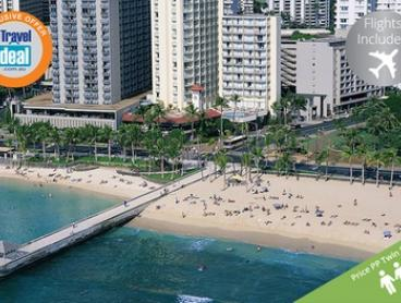 Honolulu: $1,599 (+USD 73.29 service fee) Per Person for a Seven-Night Hawaii Getaway with Flights at Park Shore Waikiki