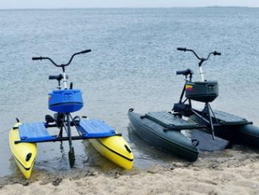 One-Hour Hydrobike Hire for One ($15), Two ($25) or Four people ($49) at Brisbane Hydrobikes (Up to $100 Value)