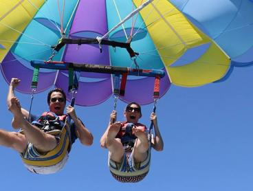 Tandem Parasailing Experience for Two People over Main Beach, Just $99 (Value $150)
