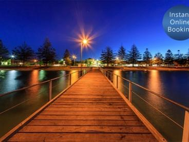 Adelaide, Glenelg: 1 or 2 Nights for Two or Four People with Breakfast and Late Check-Out at Comfort Inn Haven Marina