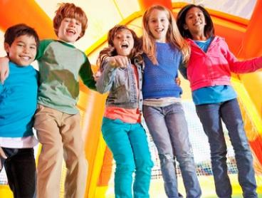 Entry to Inflatable World - Miranda: One ($9), Two ($18), Three ($27) or Four People ($36) (Up to $72 Value)