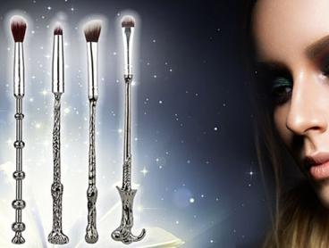 Bring Some Magical Flair to Your Beauty Routine with These Magic Wand Brush Sets! Each Set Includes Five Make Up Brushes with Wand-Like Stems. A Spellbinding Gift for Lovers of All Things Magical. From $12