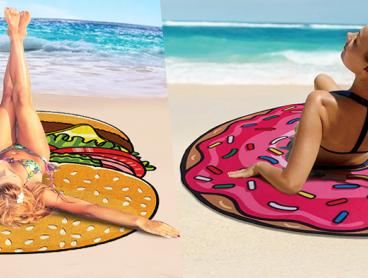 Add Some Quirky Fun to Your Next Holiday with These Tasty Towels! Made With Microfiber Material, They Add a Cute and Comical Touch to the Beach, Park, on Picnics and More. Only $19