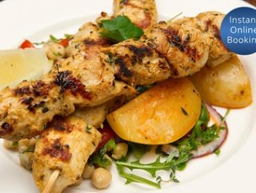 Four-Course Hellenic Feast for Two ($55) or Four People ($105) at Kritamos Hellenic Cuisine (Up to 70% Off)