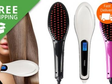 Free Shipping: $29.95 for a Todo TWH-08 Anti-Static Hair Straightening Brush (Don't Pay $299)