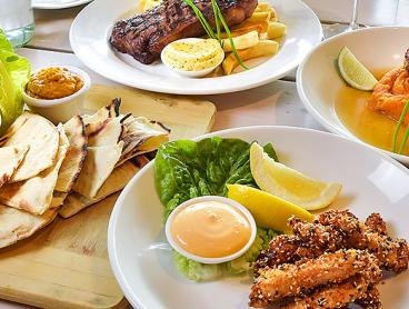 Three-Course Modern Australian Dinner by the Water is $59 for Two People or $115 for Four People (Valued Up To $208)