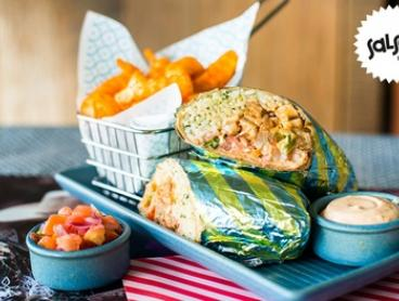 $20 for Event Cinemas Movie Ticket plus Burrito and Regular Mexicrinkles at Salsas Fresh Mex Robina (Up to $37.25 Value)