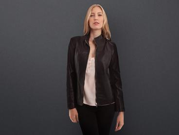Genuine Leather Outerwear | Feat. Plus Sizes