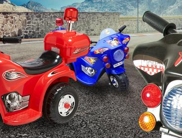Enlighten Your Child's Imagination with This Rechargeable Ride-On Bike Collection! A Perfect Gift For Your Child! Only $59