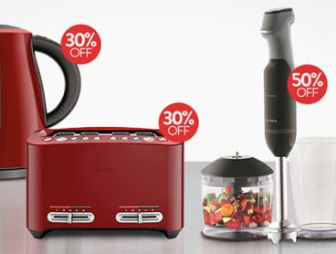 Breville, Morphy Richards, Russell Hobbs + More