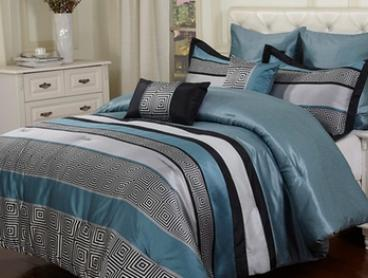 Bambury Seven-Piece Comforter Set in Choice of Design: Queen ($89) or King ($109)