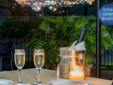 Modern Australian with Wine for Two ($79) or Six People ($237) at Mercure Charlestown - Bistro Blu (Up to $420 Value)
