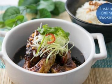 Five-Course Vietnamese Meal for Two ($45) or Four People ($90) at Huong Lua Modern Vietnamese Cuisine (Up to $188 Value)