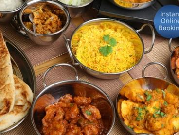 Indian Banquet for Two ($39) or Four People ($75) at Moonlight Indian Cuisine (Up to $136 Value)