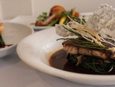 Two-Course Dinner for Two ($65) or Three Courses for Four People ($169) at The Courtyard Restaurant (Up to $328 Value)